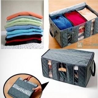 Tiết kiệm không gian với túi vải 3 ngăn tiện lợi - 3 - Gia Dụng