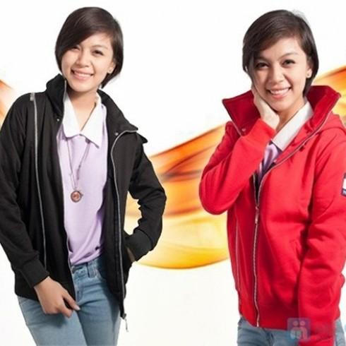 Áo khoác kéo khóa đôi - 1 - Thời Trang Nữ