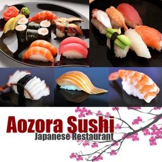 Thỏa thích chọn món tại Sushi Aozora