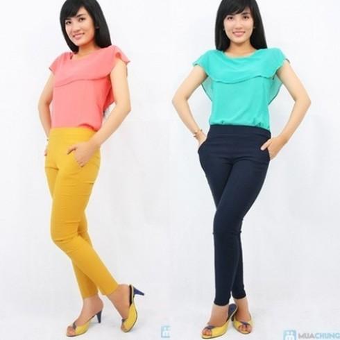 Dáng đẹp với quần skinny màu jean - 1 - Thời Trang Nữ