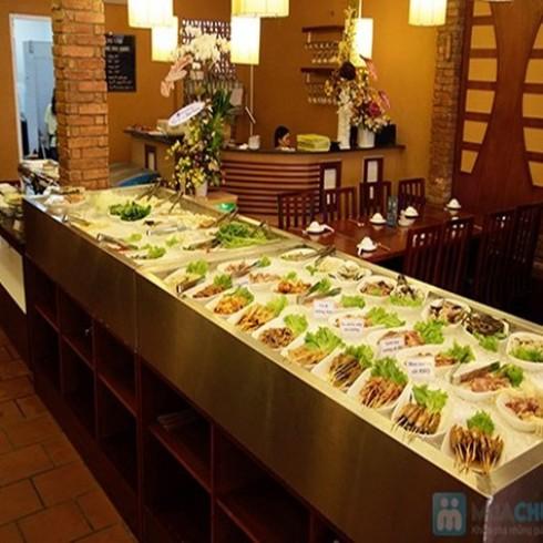 Buffet trưa tại NH BBQ House