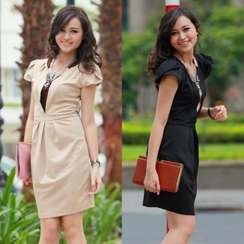 Đầm công sở nét duyên - 2 - Thời Trang Nữ