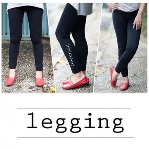 Quần legging đính đá - 2 - Thời Trang Nữ