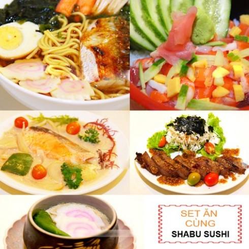 Set ăn trưa kiểu Nhật cho 1 người