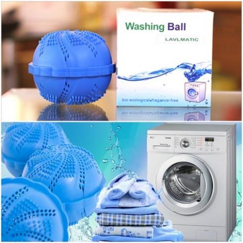 Combo 02 quả bóng giặt sinh học Washing Ball