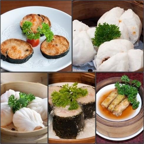 KHAISILK - THAOLI Buffet trưa Dimsum Trung Hoa