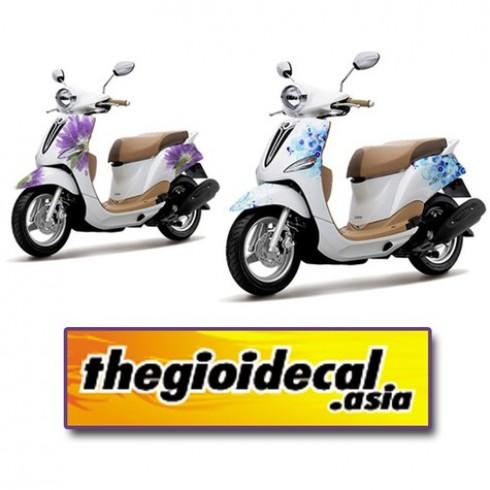 Dịch vụ dán decal trang trí xe máy