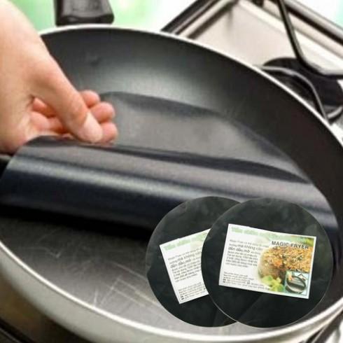 2 tấm chiên nướng không dùng dầu mỡ