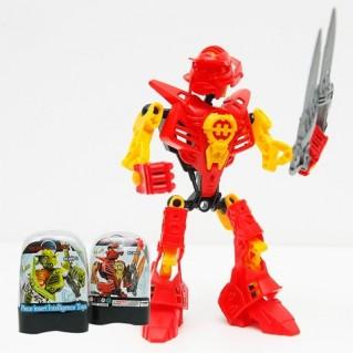 Combo 2 Đồ chơi lắp ráp Robot cho bé