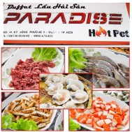 Buffet lẩu hải sản tại Paradise Hot pot - Ăn Uống