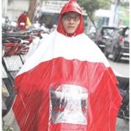 Áo mưa vải nhựa caro tiện dụng - 1 - Gia Dụng