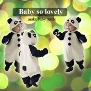 Áo liền quần Panda đáng yêu cho bé