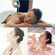 Massage body bằng tinh dầu