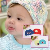 Combo 02 mũ len móc trẻ em