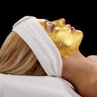 Chăm sóc da mặt Oxy tươi kết hợp mặt nạ vàng