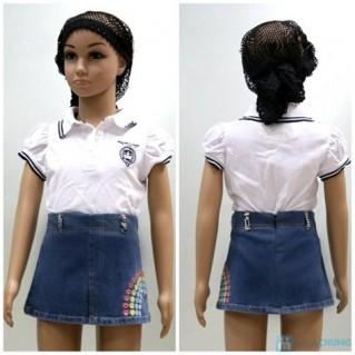 Váy zuýp bò cho bé gái