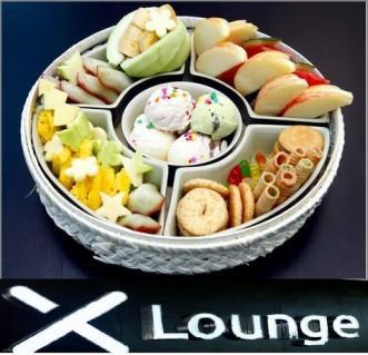 Lẩu Chocolate hoa quả tại X - Lounge