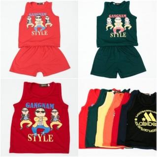Combo 2 Bộ quần áo cotton cho bé trai