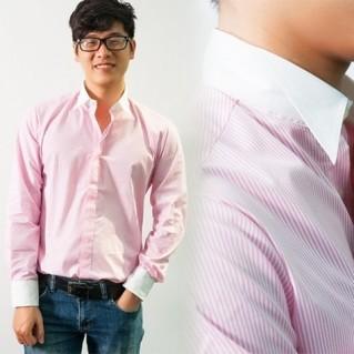 Áo sơ mi nam phong cách Hàn Quốc