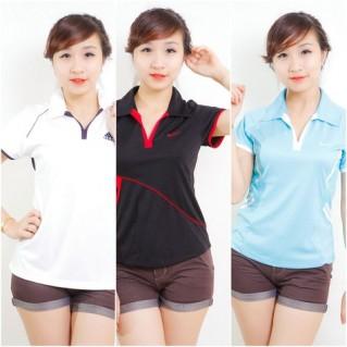 Áo phông nữ dáng thể thao - HÀNG XUẤT KHẨU