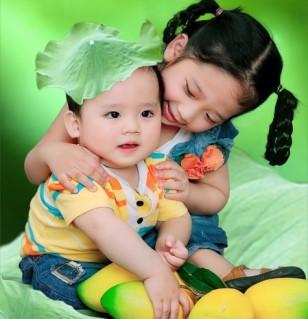 Lưu giữ ảnh bé cùng gia đình tại Phước Sài Gòn