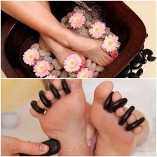 Massage chân đá nóng (60 phút)