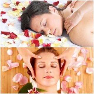 Xông hơi + Massage body bằng tinh dầu thiên nhiên