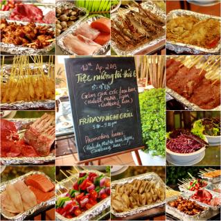 Tiệc nướng buffet tại KS Habour View