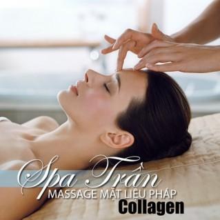 Massage mặt liệu pháp Collagen tại Spa Trần