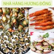 Buffet trưa tại Nhà hàng Hương Đồng