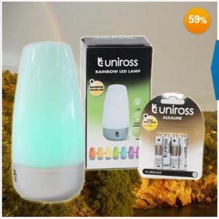 Đèn led Unicross 7 đổi màu