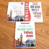 Tuyển tập bài test và luyện các kỹ năng tiếng Anh