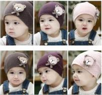 Combo 02 mũ chấm bi cho bé