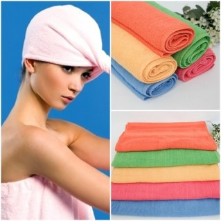 Combo 03 khăn tắm hè mềm mại, thấm nước tốt