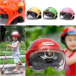 Mũ bảo hiểm trẻ em có kính chuẩn CR
