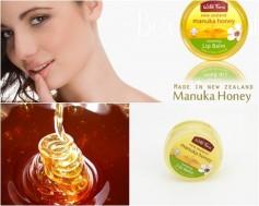 Sáp dưỡng môi mật ong Manuka