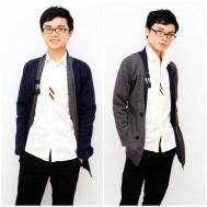 Áo khoác nỉ phong cách Hàn Quốc cho chàng