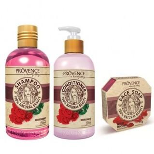 Bộ 3 sản phẩm Prôvence hương hoa hồng
