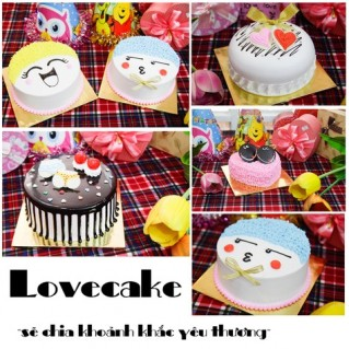 Phiếu mua bánh kem tại Love Cake