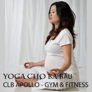 Yoga cho phụ nữ mang thai CLB Apollo Gym & Fitness