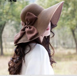 Mũ đi biển thời trang quyến rũ