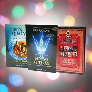 Bộ sách của tác giả Rick Riordan