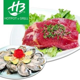 H3 Hotpot&Grill Buffet Nướng và Lẩu