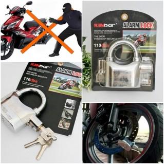 Khóa chống trộm xe máy thông minh Kinbar 110