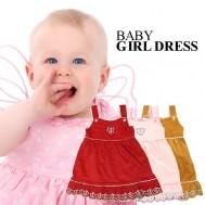 Đầm nhung xinh xắn cho bé - 1 - Thời Trang Trẻ Em