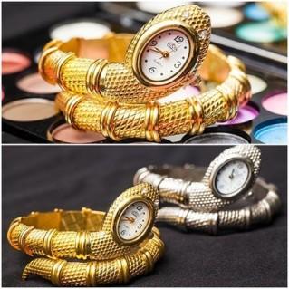 Lắc tay rắn kiêm đồng hồ