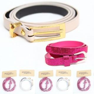Combo 5 dây nịt bản nhỏ cho bé gái