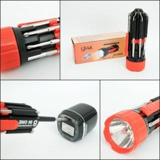 Đèn pin siêu sáng và tua vít đa năng