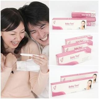 Combo 2 bút thử thai + 3 que thử thai Baby Test