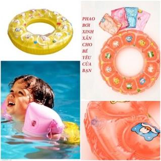 Phao bơi nhiều màu sắc cho bé